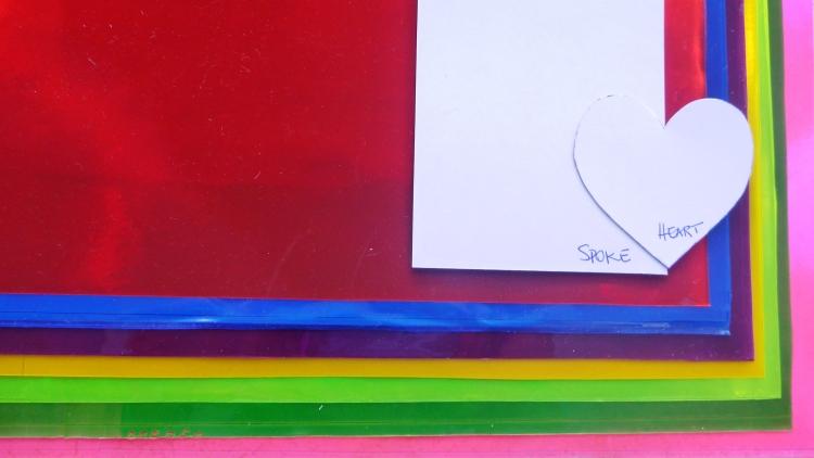 Spoke (Heart) Card